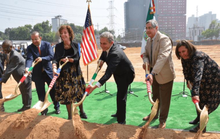 Construcción de Nueva Embajada de EU - Subvenio Construcción Blog